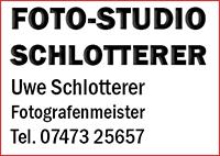 FOTO-STUDIO SCHLOTTERER
